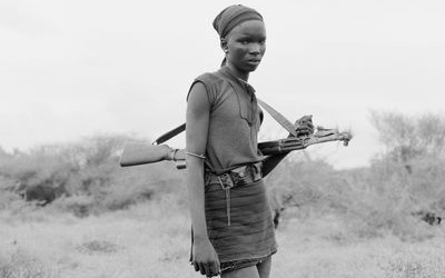 """""""Der Aufnahmeprozess mit der Großformatkamera hat etwas Rituelles"""" – Ein Gespräch mit Winfried Bullinger über seine Afrikanischen Portraits"""