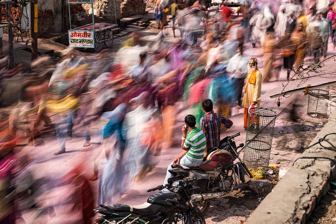 """""""Vrindavan Parikrama"""", Indien 2014"""