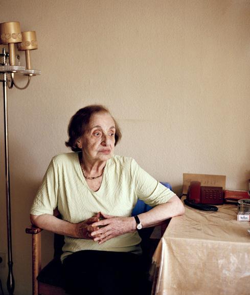 Frau Goldmann, aus der Serie Jüdisches Altersheim