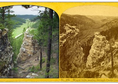 Castle Creek Valley Black Hills Custer Expedition 1874