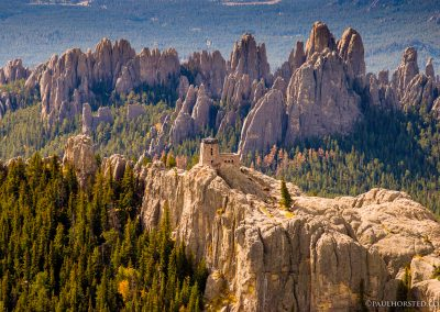 Harney Peak and Cathedral Spires in Black Hills