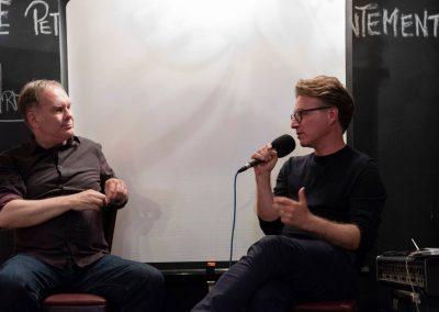 Jens Pepper mit Robert Morat
