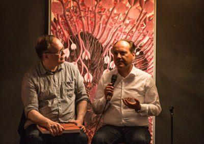 Jens Pepper mit Winfried Bullinger