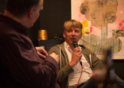 Jens Pepper mit Ralf Hanselle