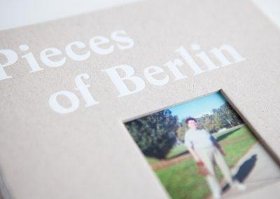 Pieces of Berlin 2009 - 2013- das erste Buch
