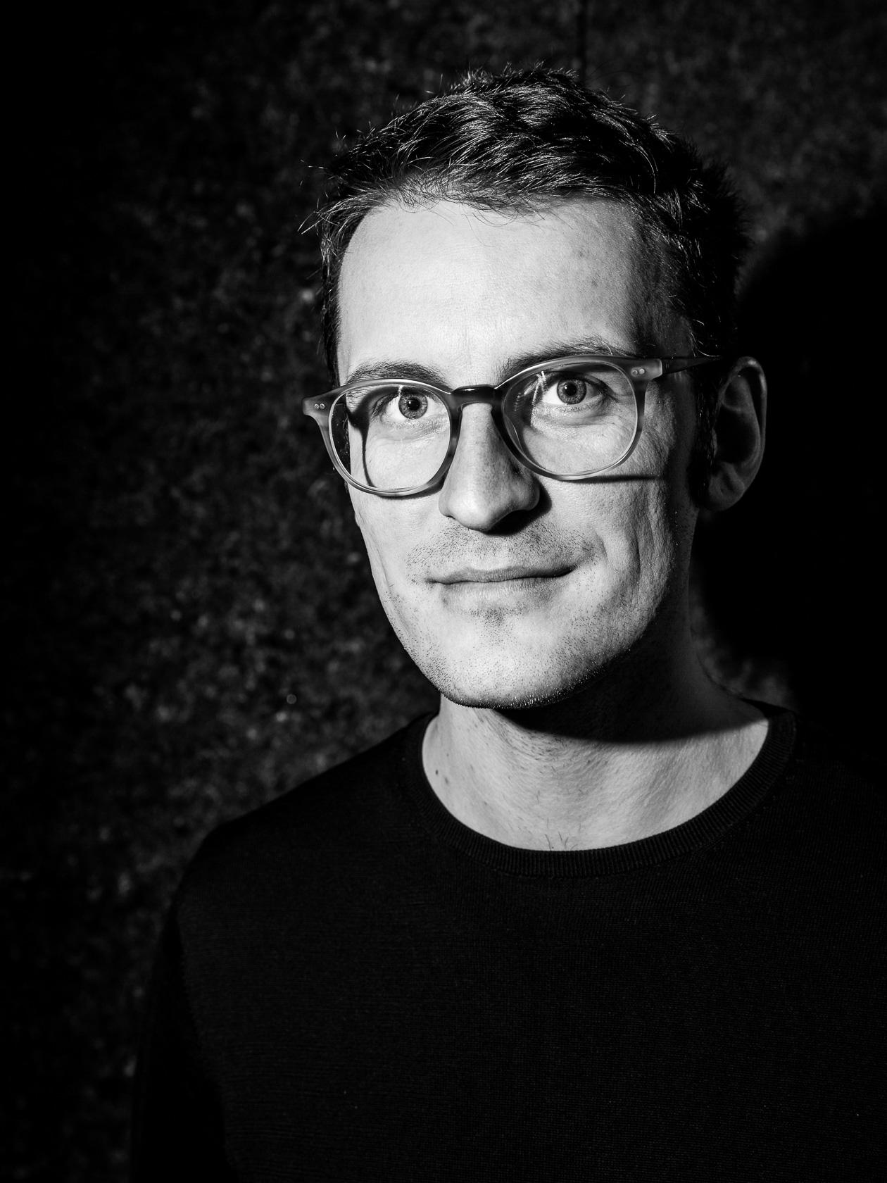 Florian Reischauer, porträtiert von Christian Reister