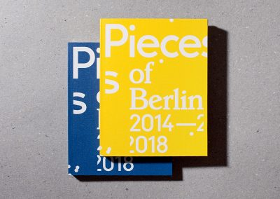 Pieces of Berlin 2014 - 2018