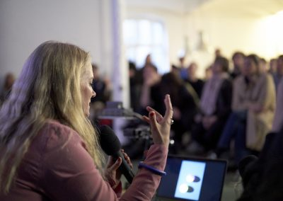 Fototreff Talk mit Jessica Backhaus, Fototreff 29, April 2019, Foto Uwe von Loh