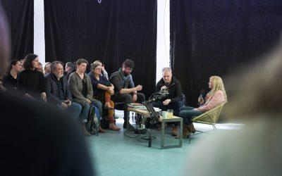 """""""Bei uns kommen sie alle zusammen."""" – Jens Pepper interviewt Pauline Friesecke, Tobias Laukemper, Vanya Pieters und Anna Charlotte Schmid."""